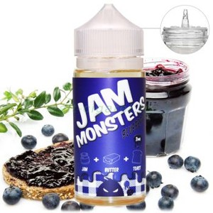 Jam Monster Blueberry 3 мг 100 мл