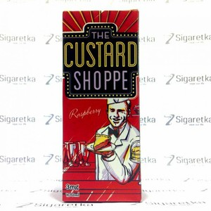 The Custard Shoppe Raspberry 100ml