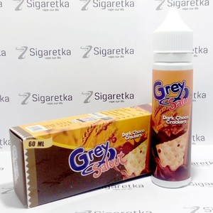 Grey Saluut: Dark chokolated crackers 60ml