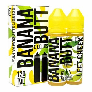 Twist Eliquid Banana Butt Left Cheek
