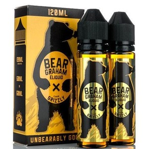Twist Eliquid Bear Graham Grizzly