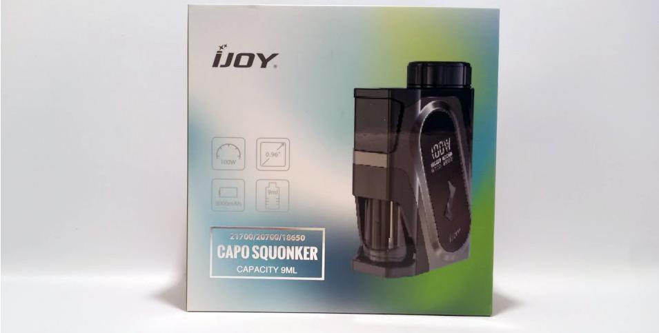 IJOY CAPO SQUONK MOD (Black) Original, цена 999 грн , купить