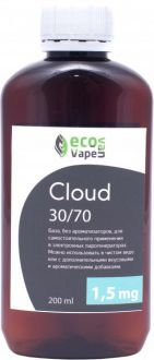 База Eco Van Vape Cloud 30/70