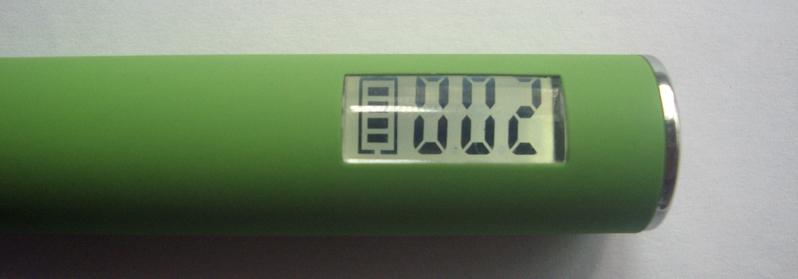 батарея с LСD дисплеем и синей LED подсветкой кнопки