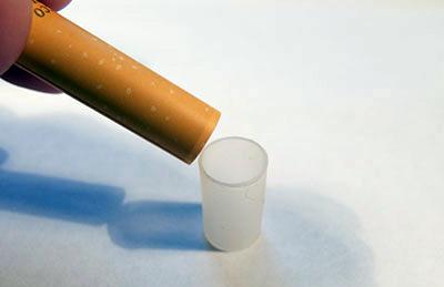 Инструкция по заправке картриджей для электронных сигарет Denshi Tabaco