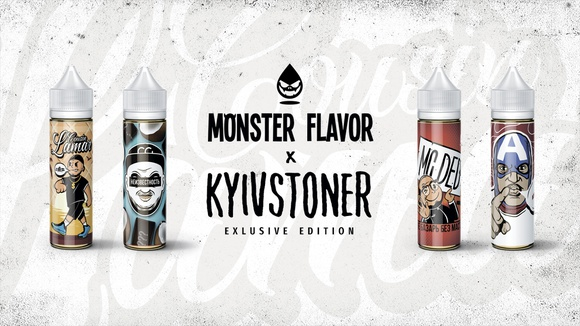 Monster Flavor x Kyivstoner