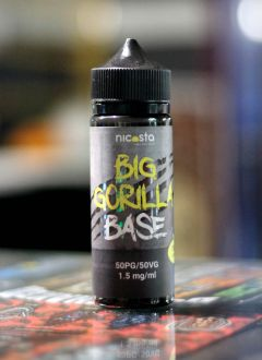Nicosta Big Gorilla base 50/50 1.5mg 120ml