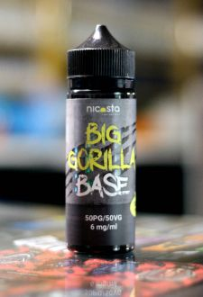 Nicosta Big Gorilla base 50/50 6mg 120ml