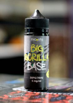 Nicosta Big Gorilla base 30/70 6mg 120ml
